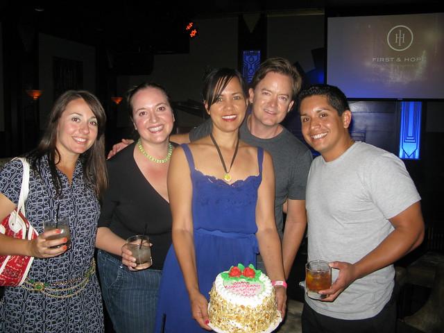 Beth, Lara, me, Aidan and Marcos on Caroline on Crack