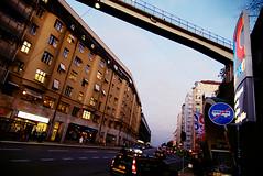 Slussen (Fredrik Forsberg) Tags: bridge sky sweden stockholm dusk citylife slussen lx3