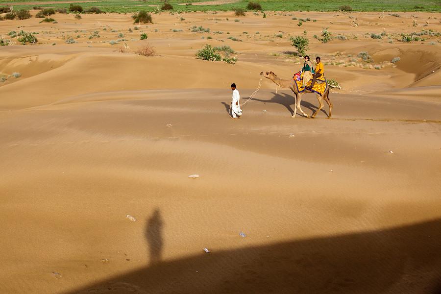印度大漠風光