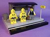 I've got a bad feeling about this... (DARKspawn) Tags: city town lego fig busstop figure dio minifig vignette diorama minifigure vig crashtestdummy collectableminifigure