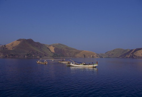 Monkey Bay + Fishing Boats No115