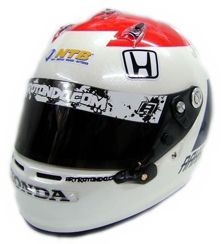 Front view- Rahal's Mid-Ohio Helmet