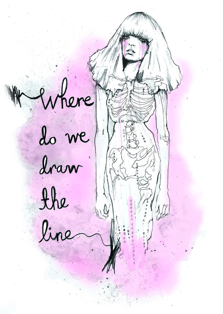 Line Drawing Ethics : The world s best photos of anorexia and skeleton flickr