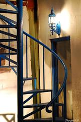 民宿藍色地中海的旋梯