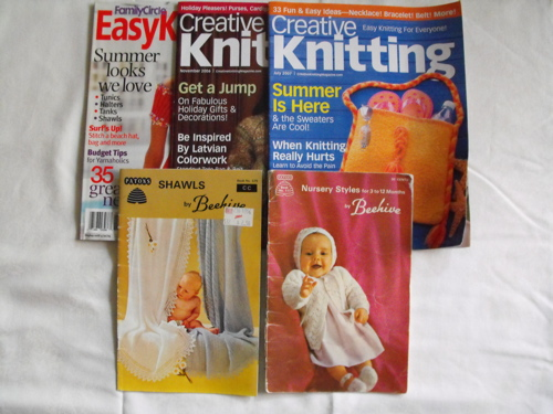 pattern books & magazines