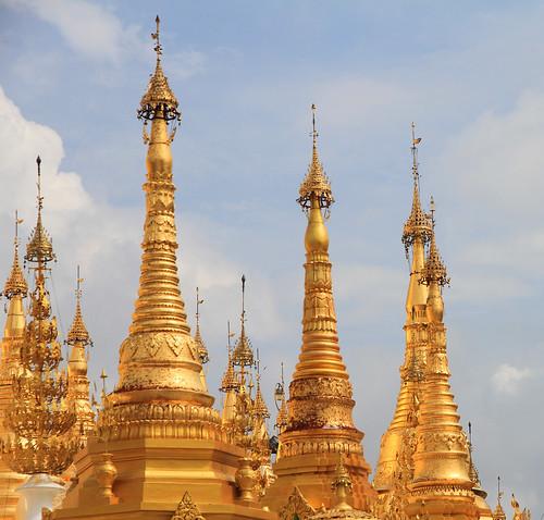 Spires Shwedagon