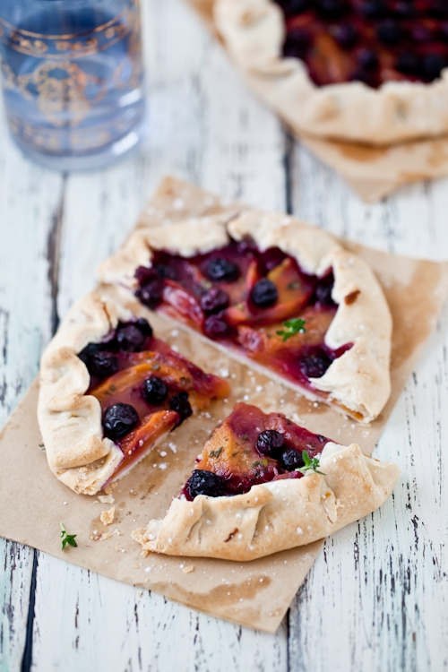 Peach - Blueberry Galettes