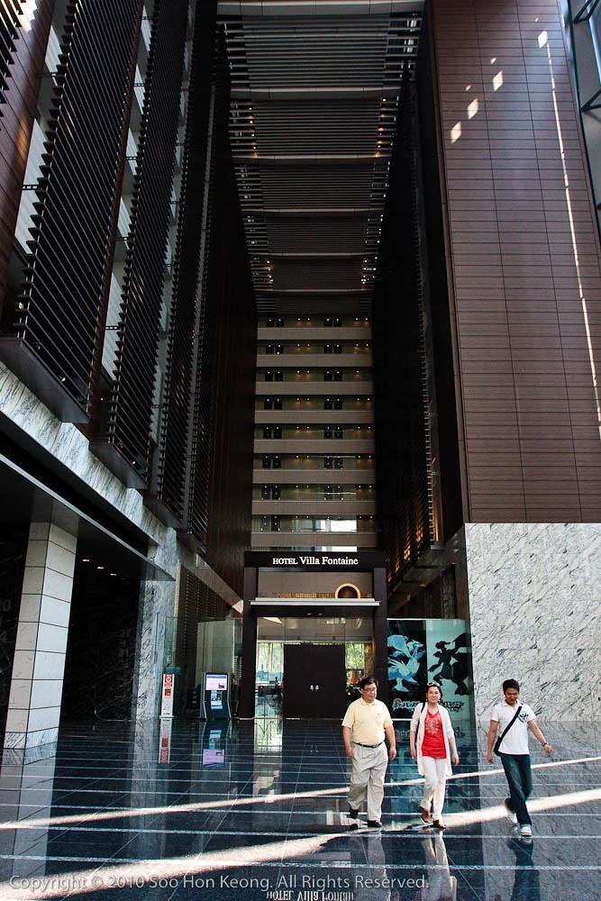Hotel Villa Fontaine - Shiodome @ Tokyo, Japan