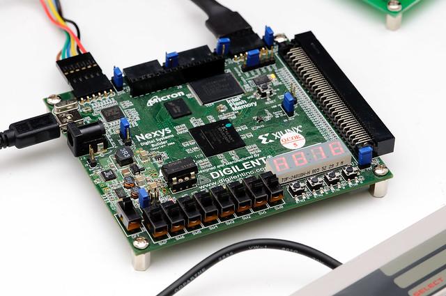 Nexys FPGA board