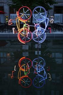 Riding Bikes / Robert Rauschenberg / Fontaneplatz / Berlijn