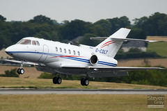 G-CDLT - 258710 - Private - Raytheon Hawker 800XP - Luton - 100726 - Steven Gray - IMG_8020
