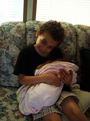 Aidan and Little Lola