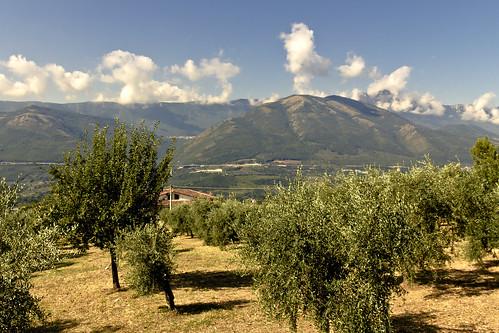 Landscape in Potenza