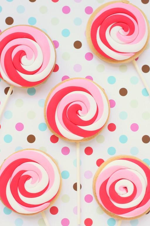 lollypop cookies!