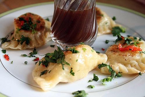Daring Cooks August Challenge - Pierogis Trini Style