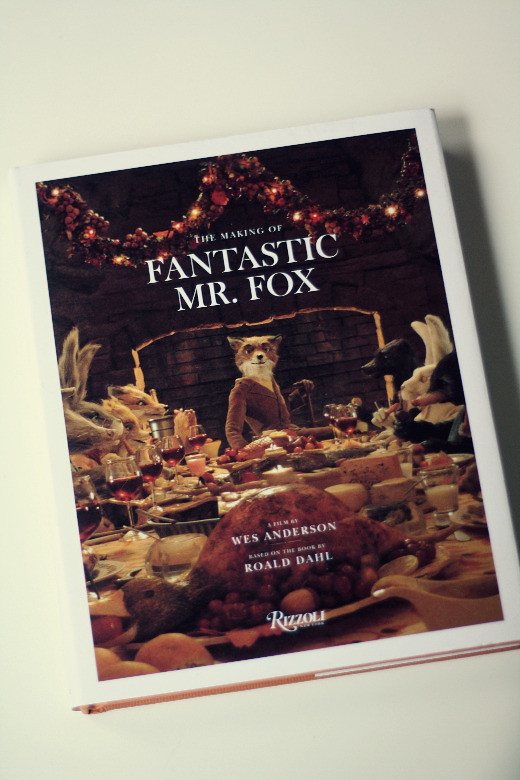 The Making of Fantastic Mr. Fox Cover
