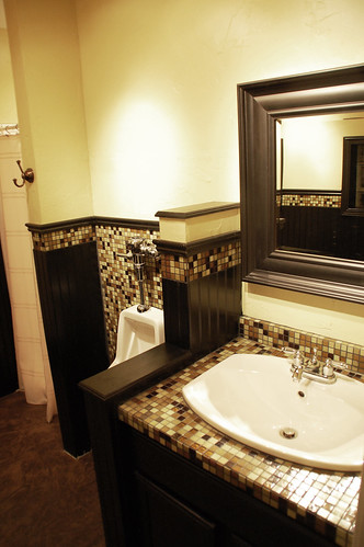 Man Cave Bathroom Style Revealed DIYdiva