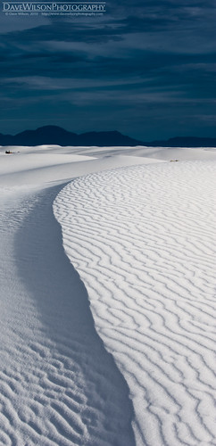 Rippled Ridge, White Sands, New Mexico