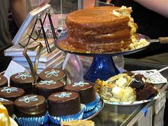Leslie's Caramel Cake, plus Gourmet HoHos