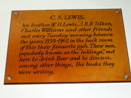 Plaque in the Rabbit Room