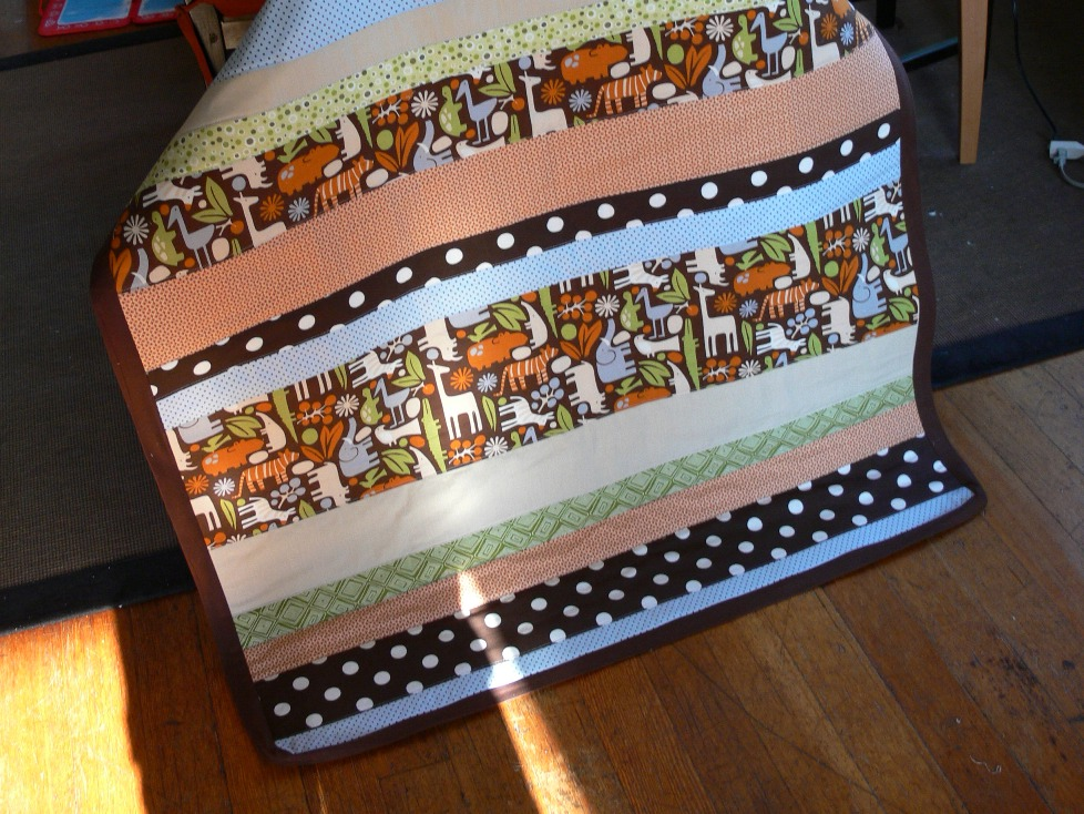 Jenny: Baby Stripe Quilt