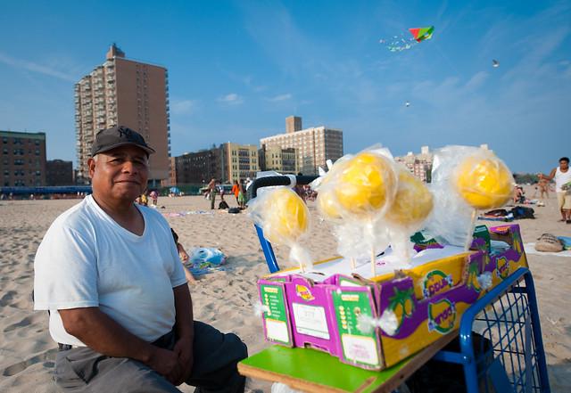 Mango Vendor; Brighton Beach