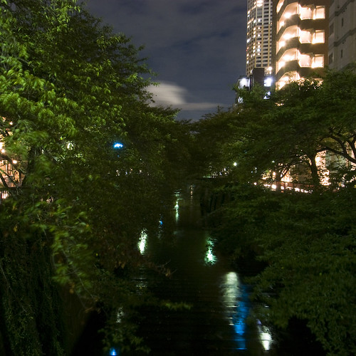 Canal Side, Naka Meguro