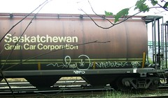 Soyer Vers2 (Grimey ♕ Trains™) Tags: canada train graffiti tag rts hopper freight handstyle vers2 wheatie soyer