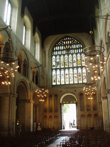 Nave looking West, Rochester Cathedral