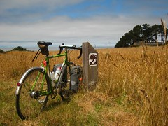 The Sea Ranch CA. (ah_blake) Tags: california ranch county ca sea beach bike bicycle san ss pebble mendocino fe versa mateo sti touring nexus copilot ortlieb shimano streaker comotion cycletouring tubus thesearanch hubgear