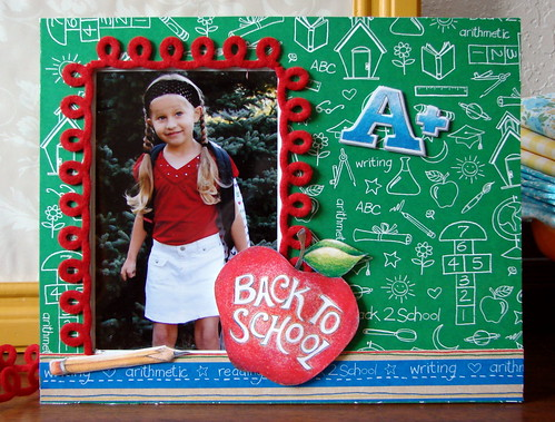Back to School Frame