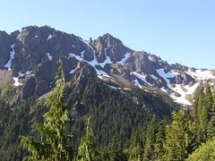 Views from Marmot Pass trail.