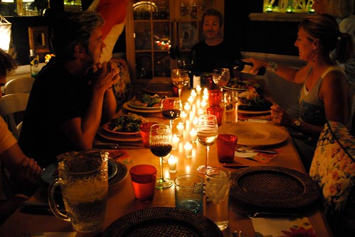 candlelit dinners