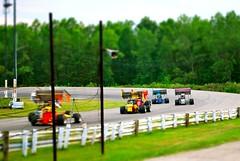 Turning Left (bluejetjane) Tags: ohio motion racetrack race movement nikon track wing racing autoracing speedway lorain d60 tiltshift supermodified openwheel openwheelracing worldcars tiltshiftmaker loraincountyspeedway