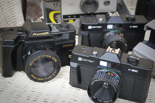 Cameras thrifted this week