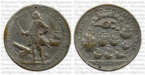 Admiral Vernon Medal vn2-153