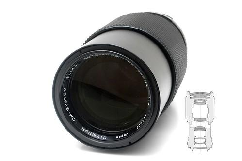 Olympus OM Zuiko Auto-Zoom 4.0/65-200
