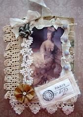 CLOTH MARIE TAGS (terri gordon) Tags: ribbon marieantoinette clothtag