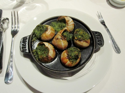 Escargot à la Bourguignonne @The Boundary