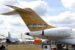 N340GF BOMBARDIER GLOBAL 5000 BD-700-1A11 9340 CORPORATE  - 100724 - Farnborough - Alan Gray - IMG_3259