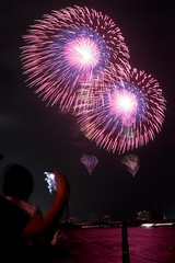 第23回東京湾大華火祭 三重芯変化菊 対打ち