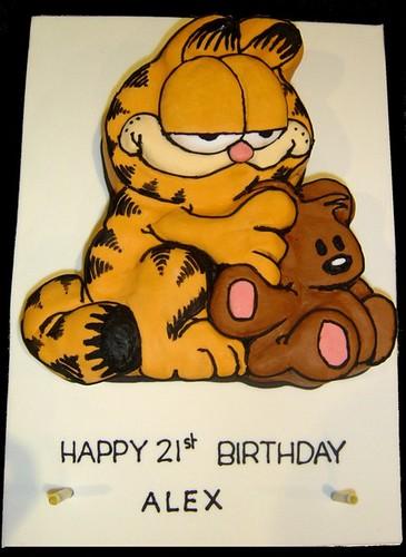 Garfield 2d Cake