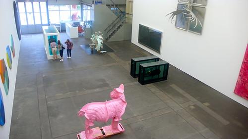 berlin art art--damien hirst + michael joo