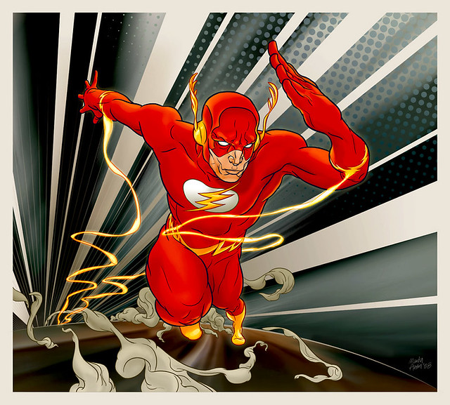 The Flash by Martin Ansin