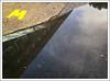 two worlds (jordi.martorell) Tags: cameraphone reflection london mobile geotagged cellphone movil samsung bow reflejo guessed guesswherelondon busgarage reflexe gwl cruzadas sghg600 samsungsghg600 guessedbyƒliçkrwåy