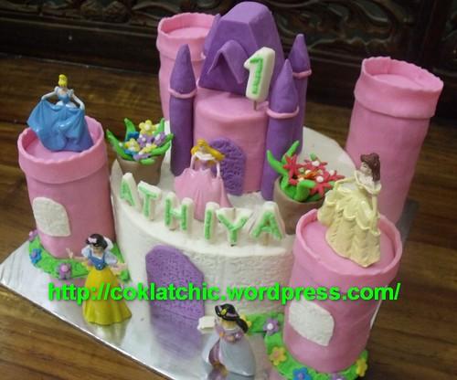 Princess Castle Cake Athiya Jual Kue Ulang Tahun