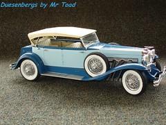 Blue Phaeton 002 (MrToad1947) Tags: ford modela model victoria 1912 dietrich towncar touring modelt packard 1929 1909 phaeton diecast hubley dusenberg