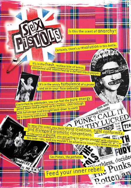 Sex Pistols - the perfume