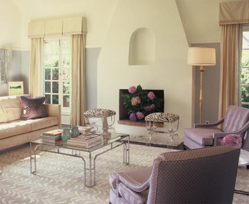 Ruthie Sommers Interiors - Soothing Living Room