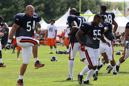 chris williams bears. Bears Training Camp - Chris Williams | Flickr - Photo Sharing!